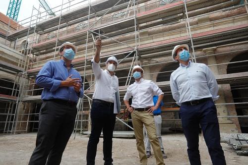 Diputación recupera las fachadas e interior original del Hospital Provincial