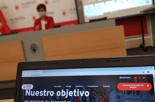 El Grupo Socialista estrena web 'participativa'