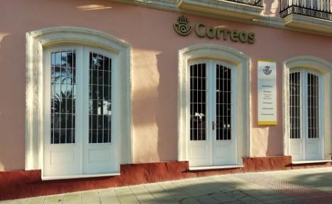 Correos abre su nueva oficina en el centro de Almería el 1 de diciembre