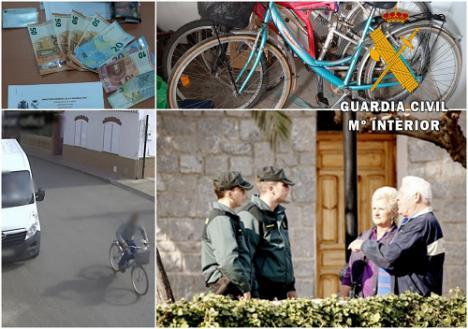 A prisión por robar a una persona mayor al salir del banco en Pulpí