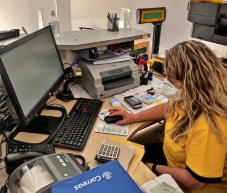 Ya está totalmente digitalizada la oficina rural de Correos en Benahadux