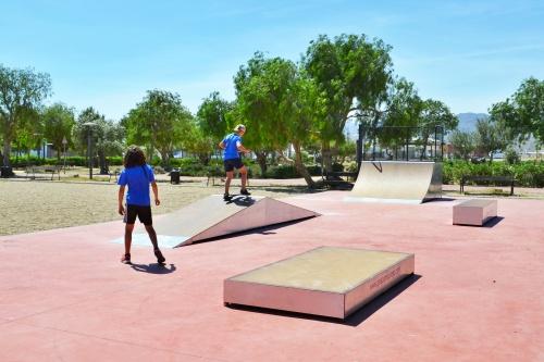 Níjar cuenta con una nueva pista de Skate