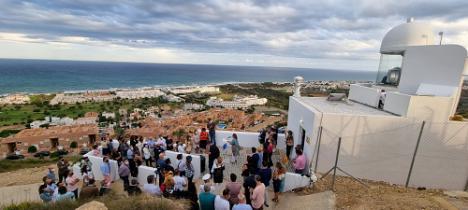 El nuevo Faro de Mojácar alcanza 24 millas náuticas