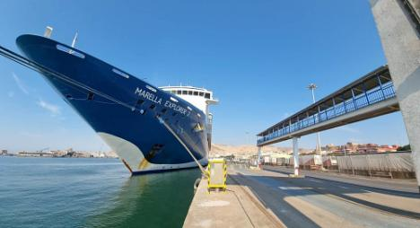 El crucero Marella Explorer 2 visita por primera vez el Puerto de Almería con 400 pasajeros británicos