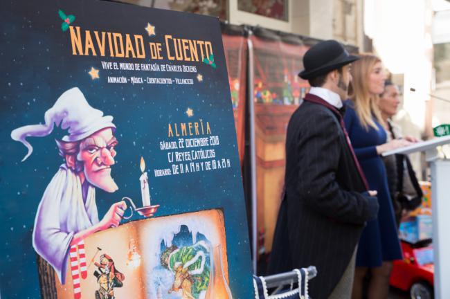 Almería vivirá una 'Navidad de Cuento' con una ambientación en la calle Reyes Católicos