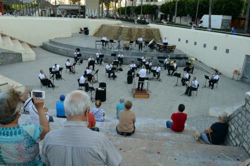 La Banda Municipal actuará en Costacabana y la Plaza de la Constitución