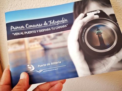 El Puerto de Almería edita un cuaderno con trabajos del Concurso de Fotografía