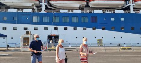 El Puerto de Almería recibe este fin de semana dos cruceros