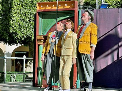 'Oops' divierte con pequeñas cosas en el 39º Festival de Teatro Infantil
