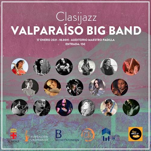 Clasijazz presenta Valparaíso Big Band, formación compuesta por mujeres