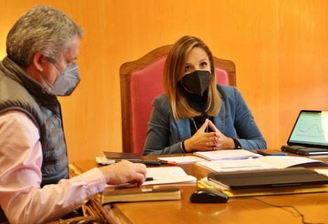Salud trata con los alcaldes del Área Sanitaria Norte la situación de la pandemia