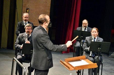 La Banda Municipal realiza su primer concierto del año en el Auditorio