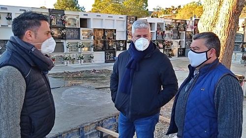 Comienza la ampliación del cementerio de Huércal de Almería