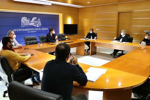 La 'Smart City y Gobierno abierto' en la reunión de los proyectos EDUSI de El Ejido