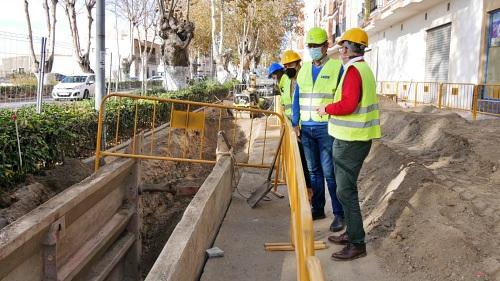 Ayuntamiento de Adra evita la pérdida de 300.000 litros de agua diarios con el plan de fugas