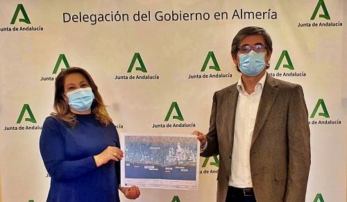 Crespo presenta al alcalde de Adra las alternativas de depuración de Guainos y La Alcazaba