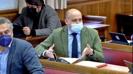 El PSOE defiende en el Senado una transición energética justa en Carboneras