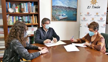 Ayuntamiento de Adra y FEAFES 'El Timón' en materia de Salud Mental
