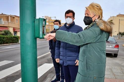 La Junta solventa la inseguridad vial en la travesía de Las Norias