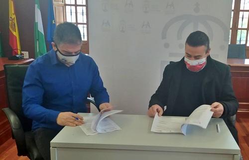 El Ayuntamiento de Huércal colabora con Cruz Roja para dar empleo