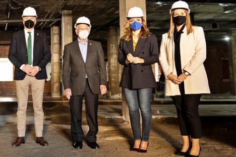 La Junta recuerda en Roquetas su compromiso con la sanidad en Almería
