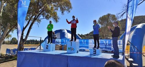 El atletismo almeriense consigue cuatro medallas en el Campeonato Andaluz de Cross