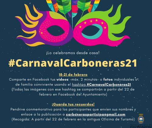 El Carnaval de Carboneras se celebra en Facebook