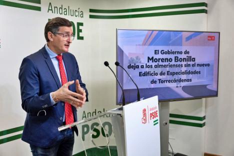 El PSOE exige la licitación inmediata el edificio de Consultas Externas de Torrecárdenas