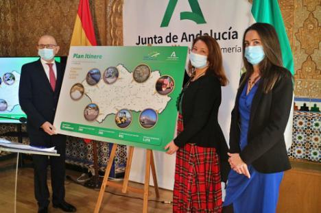 La Junta invierte 75 millones en caminos rurales de 200 municipios de toda Andalucía