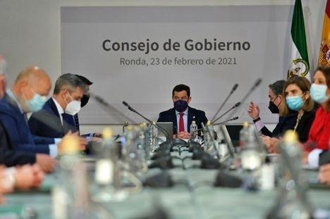 El Gobierno de la Junta destaca a Andalucía como 'comunidad histórica'