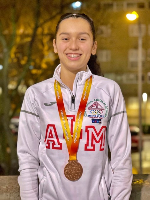 Marta Sebastián es oro en el Campeonato Andaluz Sub-20
