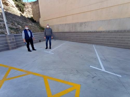 Nueva zona de aparcamientos en el casco antiguo de Huércal