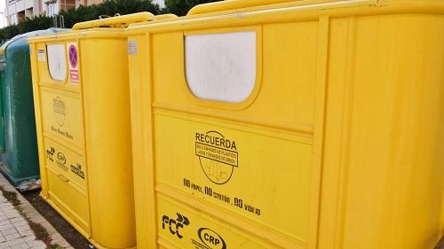 El reciclaje de envases ligeros aumenta un 40% en Adra en cinco años
