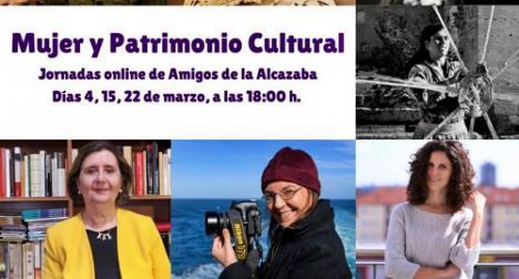 Amigos de la Alcazaba organiza las jornadas 'Mujer y Patrimonio Cultural'