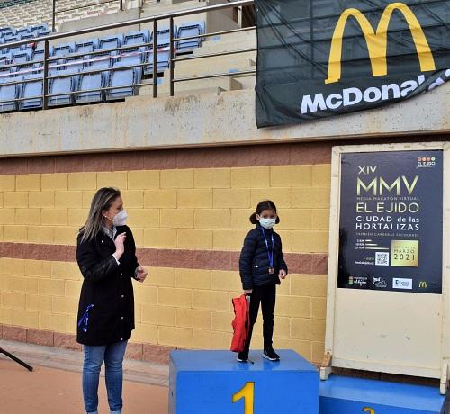 Arrancan las carreras escolares de la XIV edición de la Media Maratón 'Ciudad de las Hortalizas'