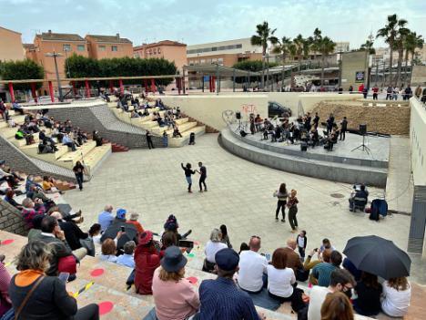 Almería se reencuentra con la música en directo con Clasijazz Big Band en el Anfiteatro