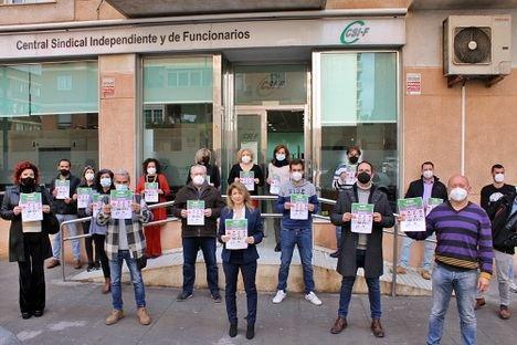 """CSIF celebra el 8M bajo el lema """"El Covid no nos frena"""""""