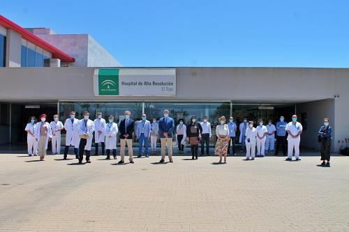 El Hospital de El Toyo renueva la certificación de la Agencia de Calidad Sanitaria