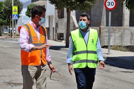 Inversión superior a los 700.000 euros en 50 calles de El Ejido