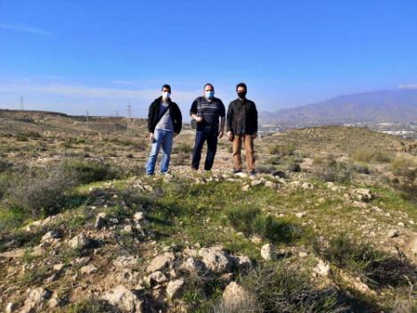 Argárica y Amigos de la Alcazaba proponen un parque arqueológico en Huércal de Almería