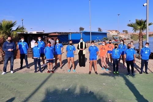 El Club de Remo y Tiempo Libre de El Ejido gana cuatro medallasdel Campeonato de Andalucía de Botes Cortos