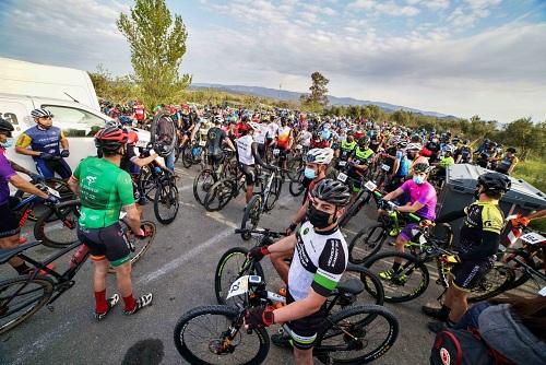 El 'mountain bike' vuelve con fuerza en la I Media Maratón BTT Las Malvinas