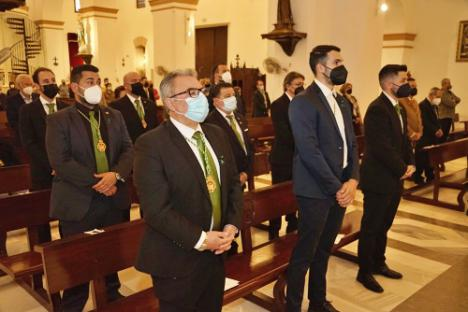 Ayuntamiento de Adra arropa a sus Hermandades en sus misas