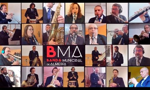 La Banda Municipal recrea la pasión de Semana Santa con las hermandades