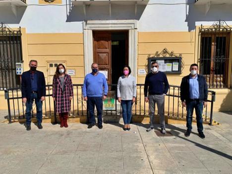 El PSOE denuncia el retraso en la obra del centro social y de mayores de Cantoria