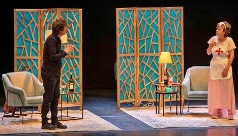 Gabino Diego y Cecilia Solaguren agotan entradas con 'Los Mojigatos'
