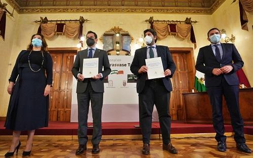 Andalucía y Murcia llegan a un acuerdo en Defensa del Trasvase Tajo-Segura