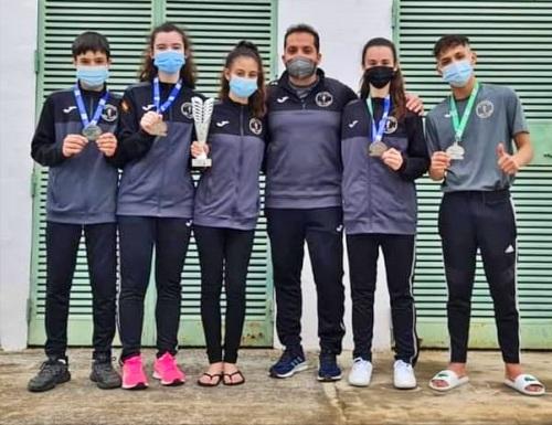 Taekwondo 301 Team se trae cinco medallas del Campeonato de España Junior