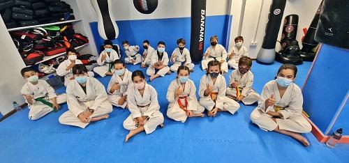 Los Juegos Municipales de Taekwondo reúnen a 29 deportistas en la primera jornada