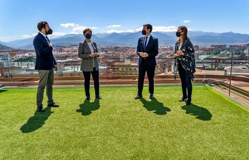 """Valverde: """"Hace falta una estrategia común en Andalucía que permita el desarrollo de las ciudades"""""""